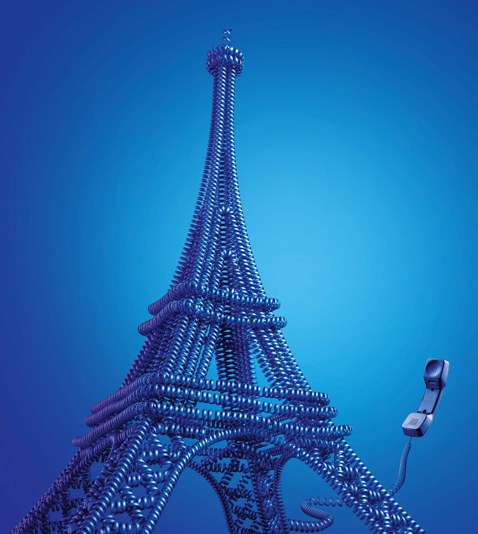 021a-Handline_Eiffel Tower