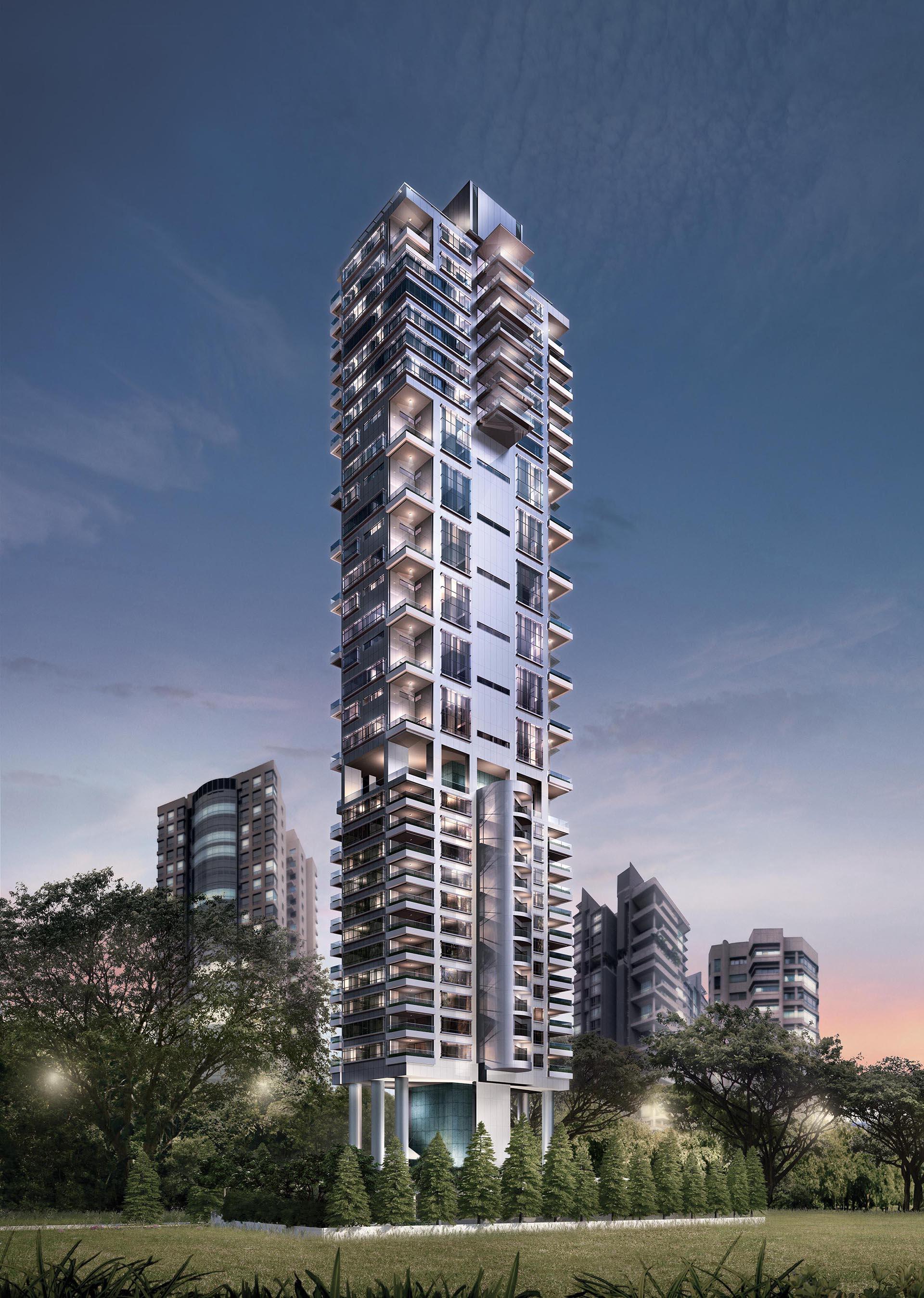 062-Skyline facade
